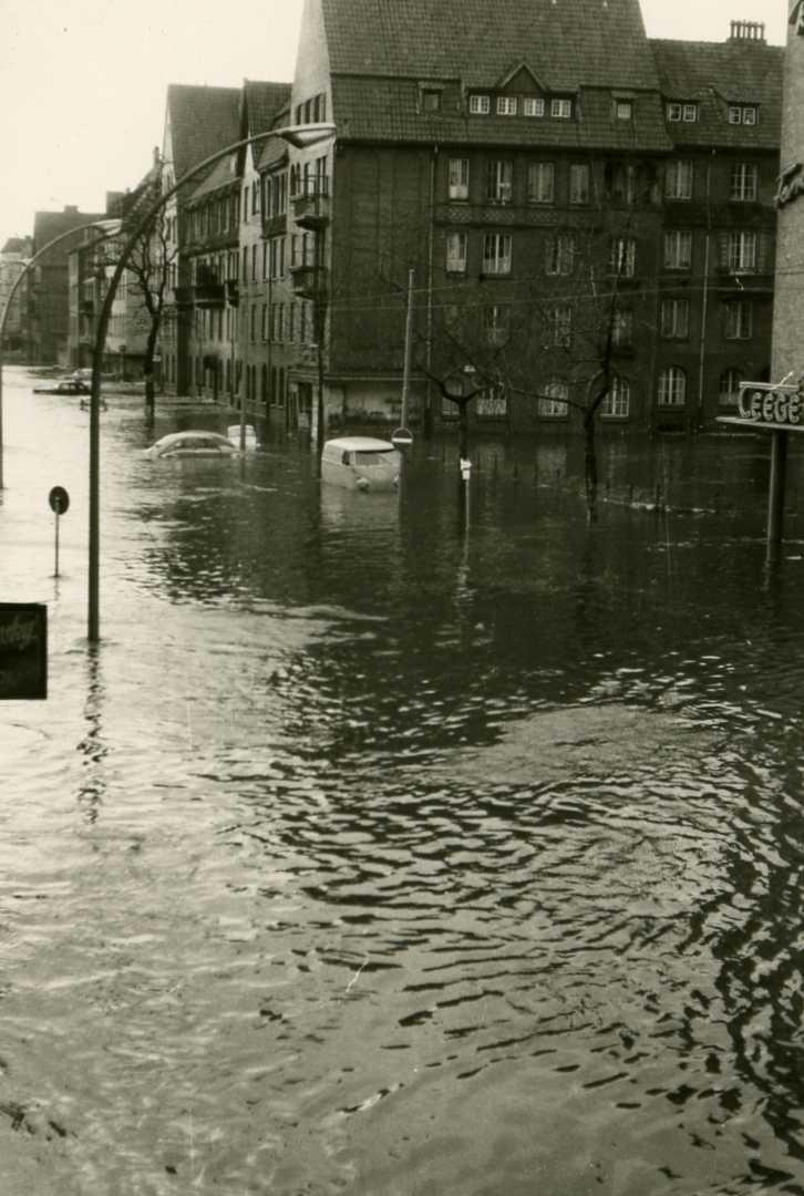 Гамбург 17 февраля 1962 г.