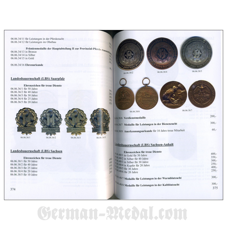 Каталог награды немецкого рейха 1871