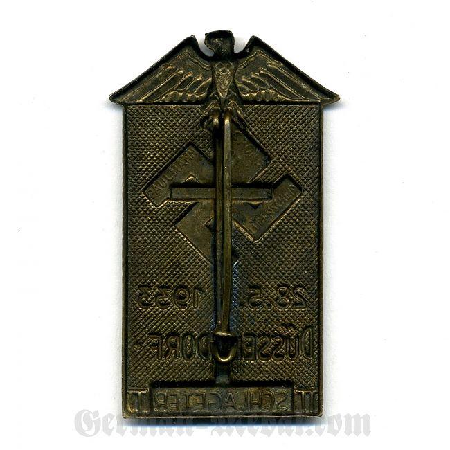"Значок ""Düsseldorf 28.5.1933 Schlageter"". Клеймо Paulman ...: german-medal.com/main/katalog/germaniya_1933-1945/znachki..."